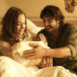 Almudena da a luz al hijo de César Bravo