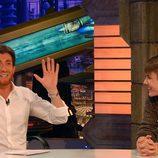 Pablo Motos y Justin Bieber en 'El hormiguero'