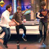 Justin Bieber baila con Marron y Pablo Motos