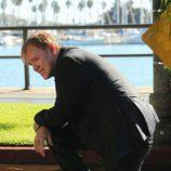 Horatio Caine en la escena del crimen de 'CSI: Miami'