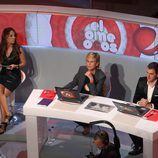 Mercedes Milá habla durante la presentación de 'El Comecocos'