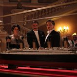 Neve Campbell y Chris Noth protagonizan 'Titanic: Sangre y acero'