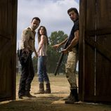Lori, Rick y Shane un trío complicado en 'The Walking Dead'