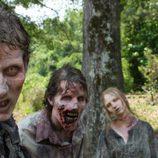 Los zombies, más terroríficos que nunca en 'The Walking Dead'