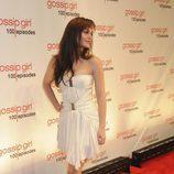 La actriz Leighton Meester en la alfombra roja de la celebración