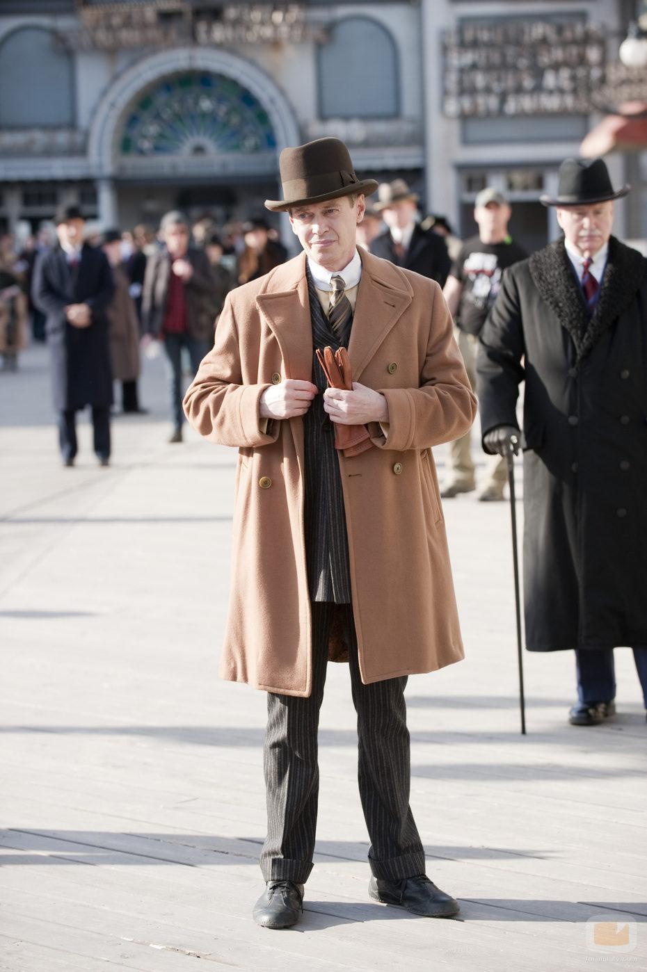 El actor Steve Buscemi en 'Boardwalk Empire'