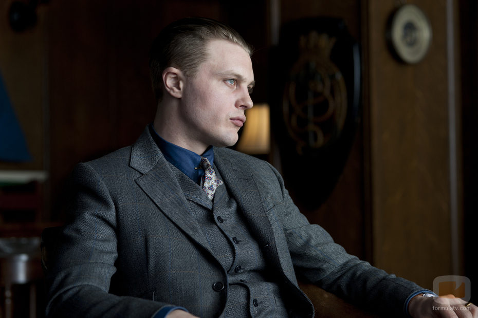 Michael Pitt en la serie de gángsters de la HBO