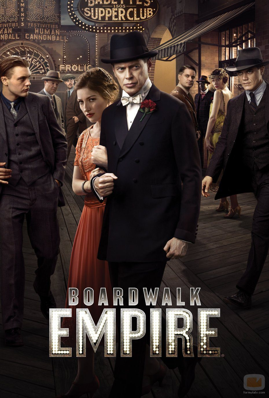 Póster promocional de 'Boardwalk Empire'