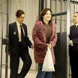 Carmen Machi interpreta a una Aída contenta de salir de la cárcel
