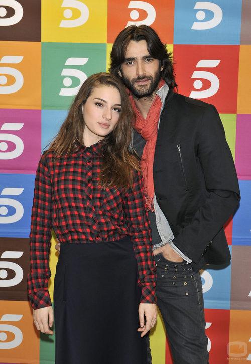 María Valverde y Aitor Luna, protagonistas de 'La fuga'
