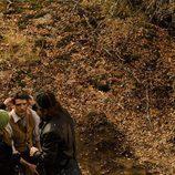 Yon González se maquilla para la serie 'Gran Hotel'