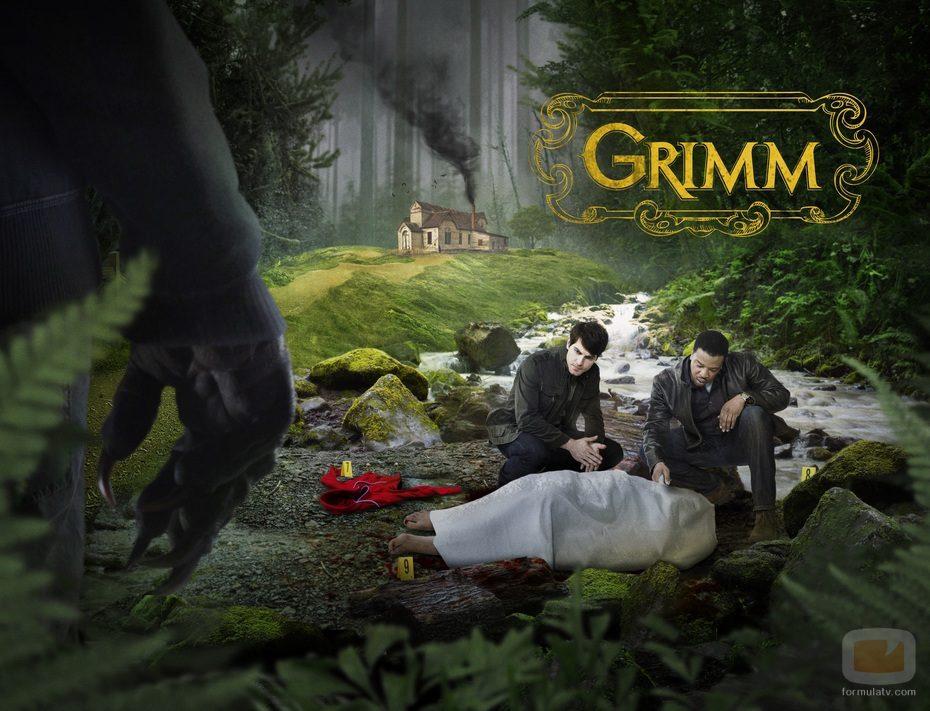 El cartel promocional de la serie 'Grimm'