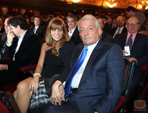Pepe Sancho y Reyes Monforte en los Premios Ondas 2011