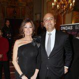 Ana Rosa Quintana y Juan Muñoz en la gala de los Ondas 2011