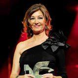Ana Rosa Quintana posa con su Premio Ondas 2011