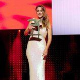Blanca Suaréz posa con su Premio Ondas 2011