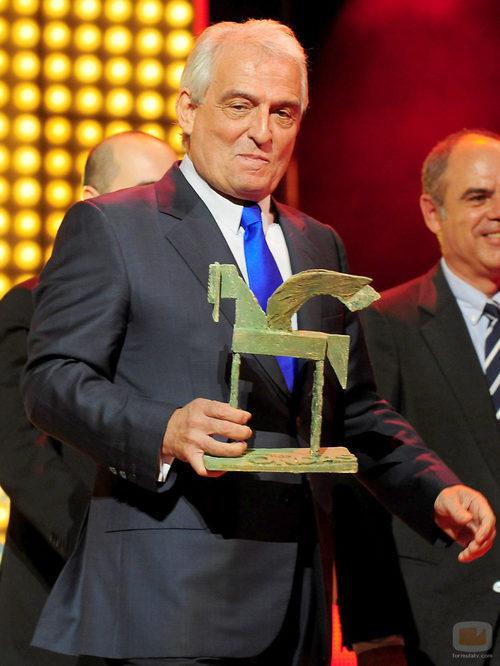 El actor Pepe Sancho recoge su Premio Ondas 2011
