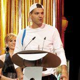 Frank Cuesta y su look informal en la gala de los Premios Ondas 2011