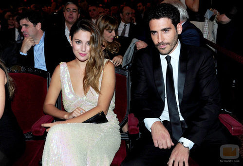 Blanca Suárez y Miguel Ángel Silvestre en los Premios Ondas 2011
