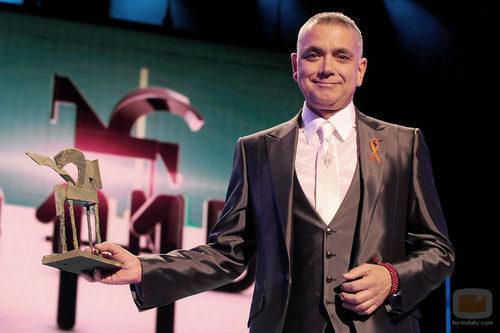 Juan Ramón Lucas en la gala de los Premios Ondas 2011