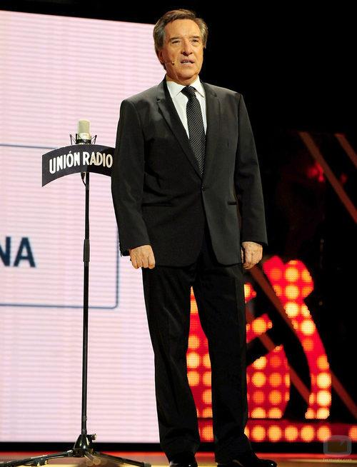 Iñaki Gabilondo en la ceremonia de los Premios Ondas 2011