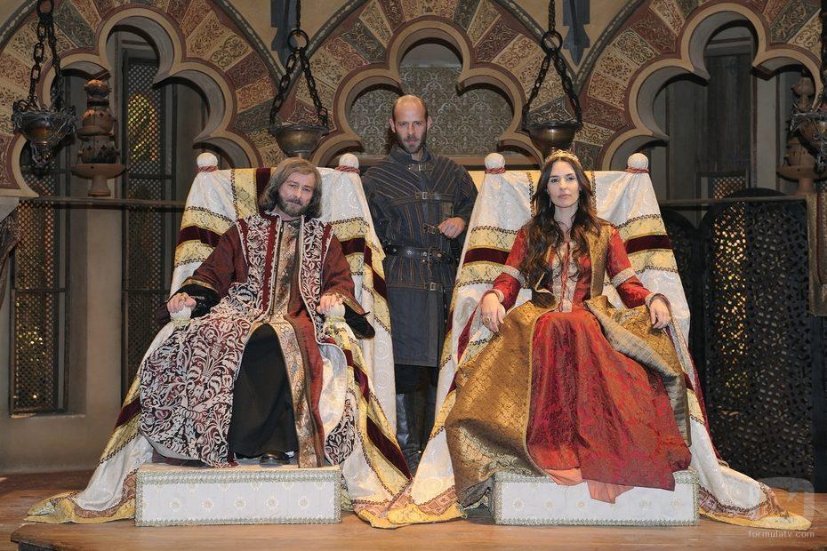 Juan Diego, Eduard Farelo y Patricia Vico en 'Toledo'