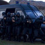 Policía en el capítulo