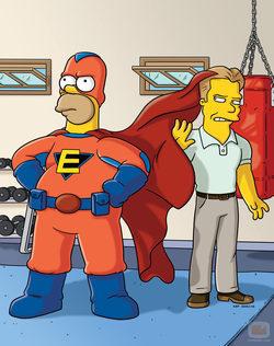 Hommer Simpson en \'Los Simpson\'