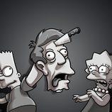 Bart Simpson, Lisa Simpson y Skinner en 'Los Simpson'