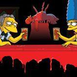 Cómica fotografía de 'Los Simpson'
