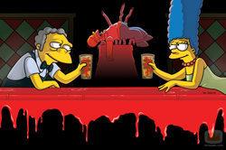 Cómica fotografía de \'Los Simpson\'