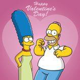 'Los Simpson' celebran San Valentín en esta temporada