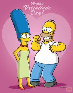 \'Los Simpson\' celebran San Valentín en esta temporada