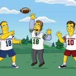 Partido de rugby de 'Los Simpson'