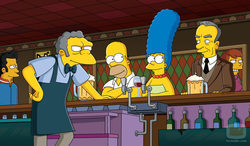 Bar de Moe de \'Los Simpson\'