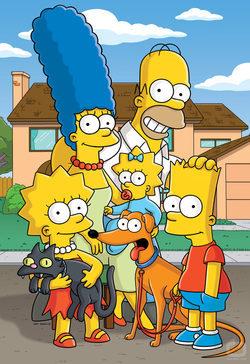 La familia Simpson al completa presenta la temporada 21