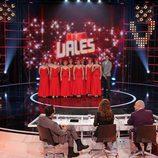 Grupo de aspirantes al premio de 'Tú si que vales'