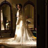 Alicia vestida de novia en 'Gran Hotel'