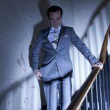 Andrew Scott da vida a Moriarty en la serie 'Sherlock'