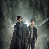 Póster promocional de la nueva temporada de la serie 'Sherlock' de BBC