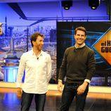 Pablo Motos recibe a Tom Cruise en el plató de 'El hormiguero' de Antena 3