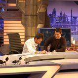 El actor Tom Cruise en un momento de la entrevista en 'El hormiguero'