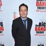 John Ross Bowie en la fiesta de 'The Big Bang Theory'