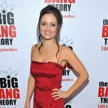 Danica McKellar en la fiesta de 'The Big Bang Theory'