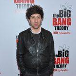 Simon Helberg en la fiesta de 'The Big Bang Theory'
