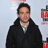 Johnny Galecki en la fiesta de 'The Big Bang Theory'