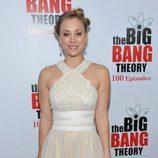 Kaley Cuoco en la fiesta de 'The Big Bang Theory'