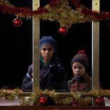 Los dos niños pasan la Navidad en 'Marco' de Antena 3