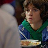 Sergi Méndez en una imagen de la grabación de la TV movie 'Marco'