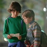 Marco y Lucas en la TV movie de Antena 3, 'Marco'